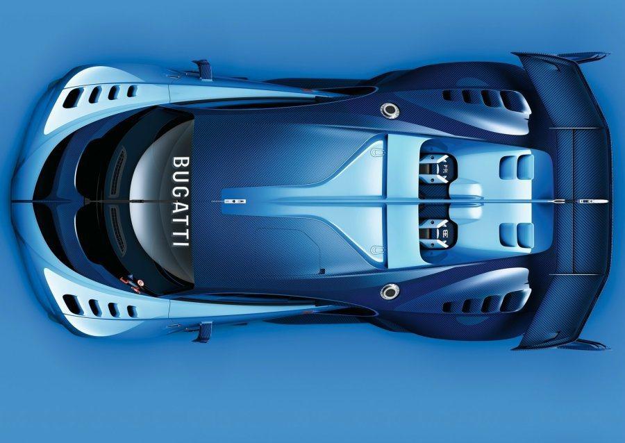 從整體外觀造型與設計理念來看,可預覽Bugatti未來的設計語彙。 摘自Bugatti