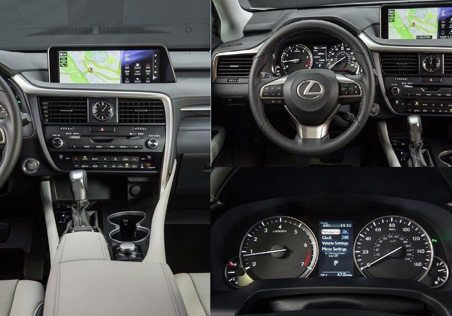 中控台採用品牌的HMI人因界面加上抬頭顯示器,並與儀表板顯示螢整合,讓駕駛可以輕鬆而且採直覺式操作。 圖/LEXUS提供