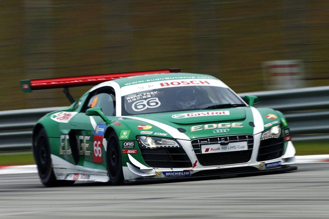 義大利車手Stefano Montesi最終與前五名擦身而過。 Audi提供