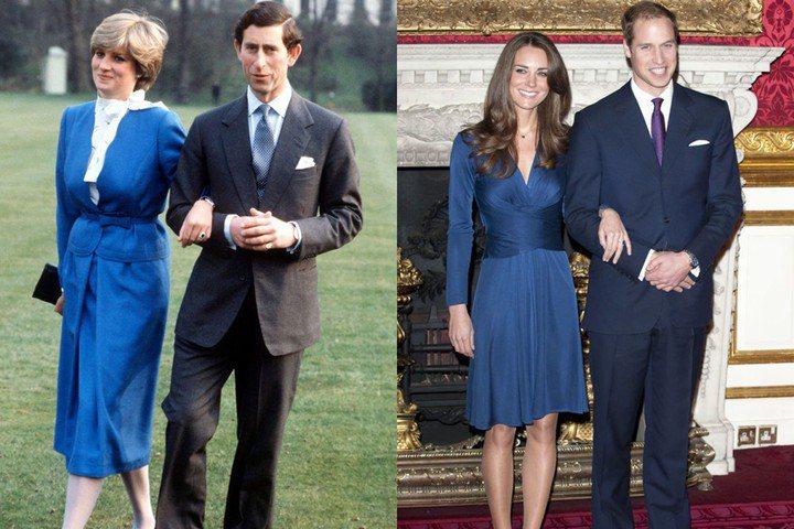 英國王妃都是這個樣?!凱特王妃酷似戴安娜的經典時尚造型。圖/ELLE US(GE...