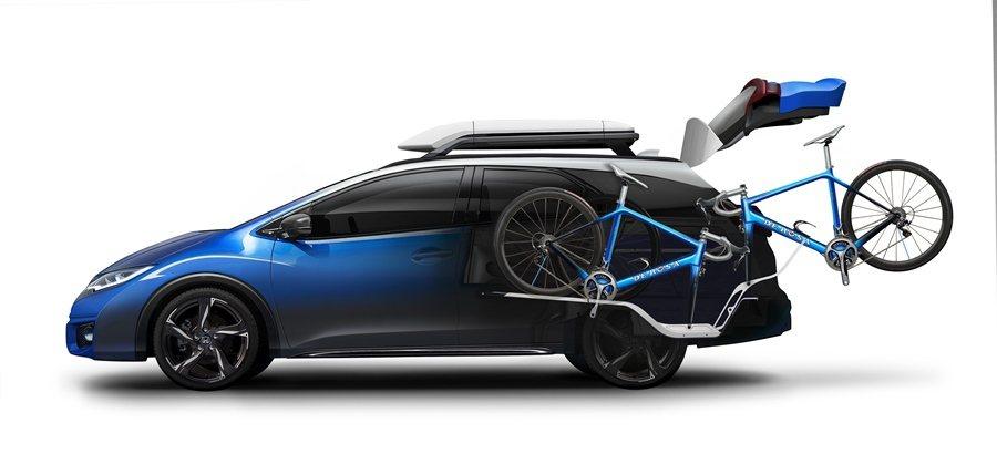 Civic Tourer Active Life Concept動力為1.6升i_DTEC引擎。 圖/HONDA提供