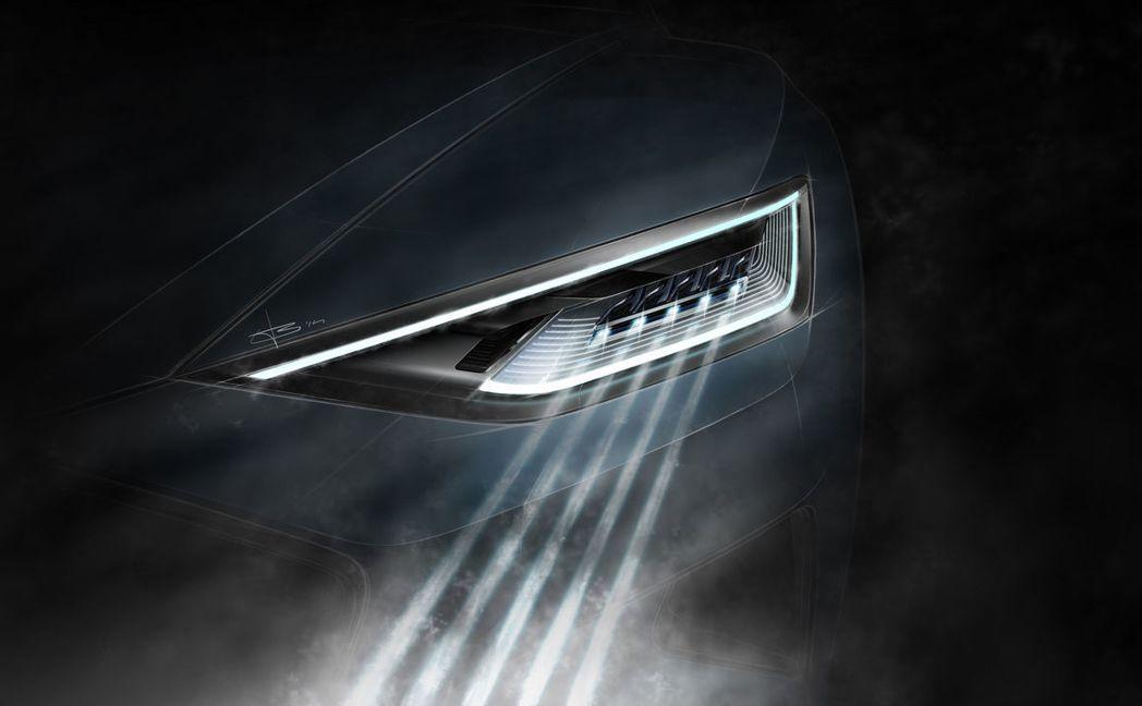 新的照明技術也在車展中普遍被運用在展出的新車上,像是雙B和AUDI等車廠所採用的...