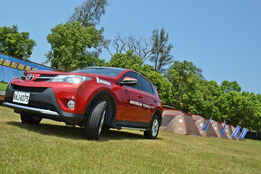 米其林(Michelin)9月14日發表全新SUV胎Primacy SUV,除節能,更強調安全、寧靜與性能兼具。 記者趙惠群/攝影