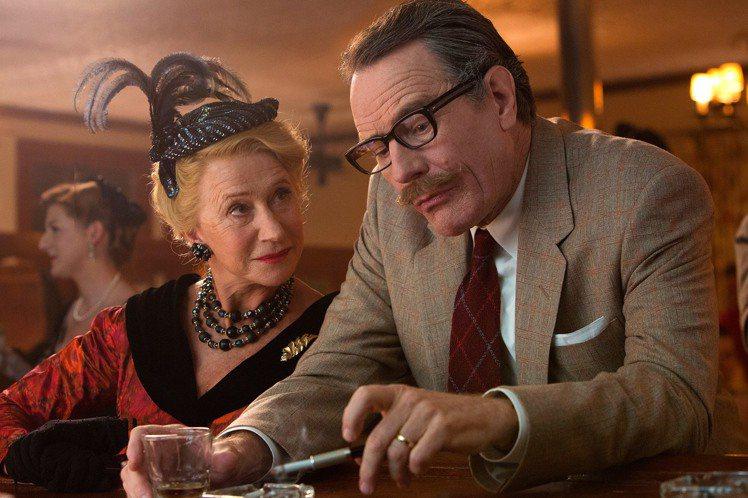 海倫米蘭在新電影《Trumbo》中飾演當時洛杉磯最著名的八卦作家 Hedda H...
