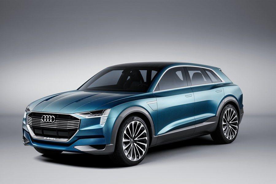 Audi e-tron quattro Concept底盤結構除採用先進的第二代...