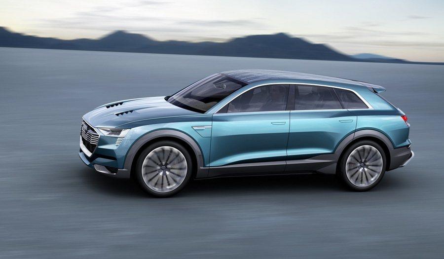 Audi e-tron quattro Concept為Audi e-tron ...