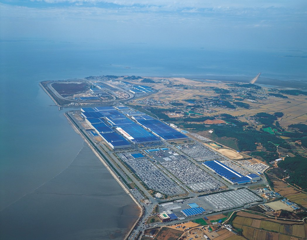 Kia華城工廠一年約可生產60萬輛汽車,其中70%皆為外銷車款。 kia提供