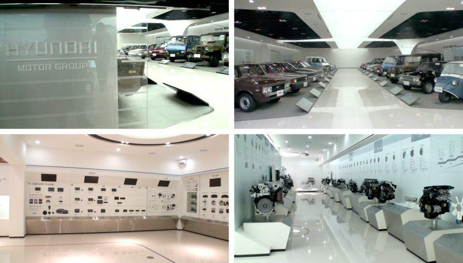 館內不僅收藏Hyundai與Kia的歷史重點車款,另有不同世代所使用的內裝設計、安全、懸吊、系統、引擎、變速箱等。 記者林翊民/攝影