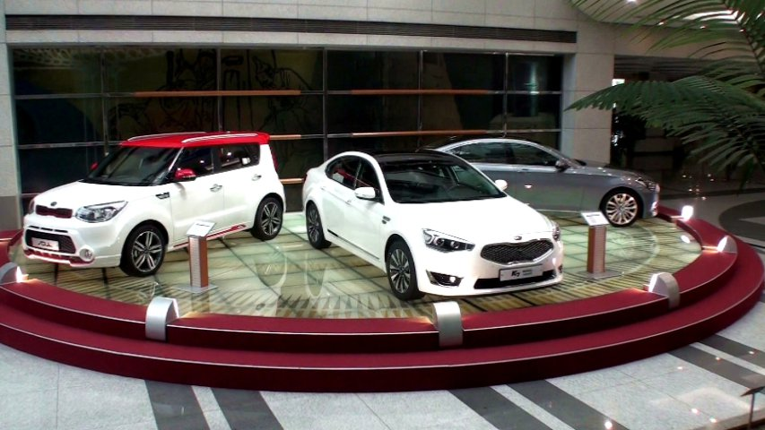 Kia目前旗下產品已有Soul、Carens、Optima及Morning等車款,未來也會導入更多新車到台灣市場。 記者林翊民/攝影