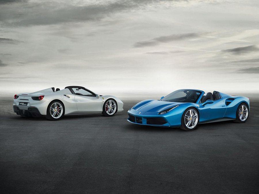 Ferrari表示 488 Spider的油門反應為0.8秒,幾乎讓駕駛感覺不到渦輪遲滯的現象。 FERRARI提供
