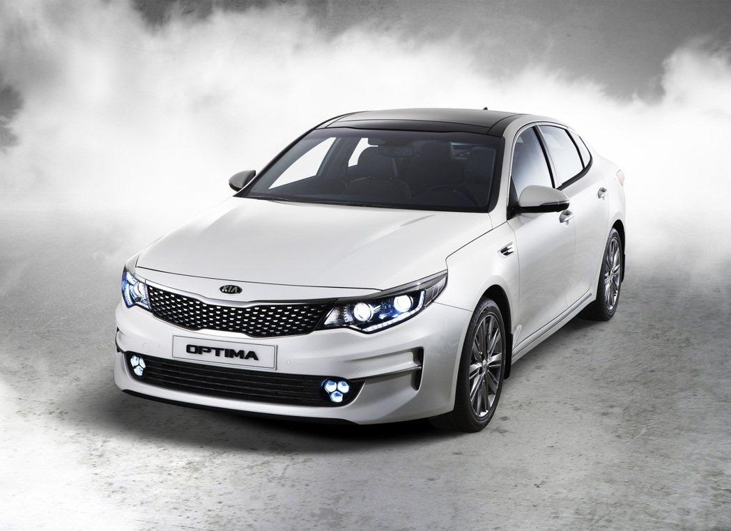 New Optima有機會在年底車展與台灣車迷相見。 KIA提供