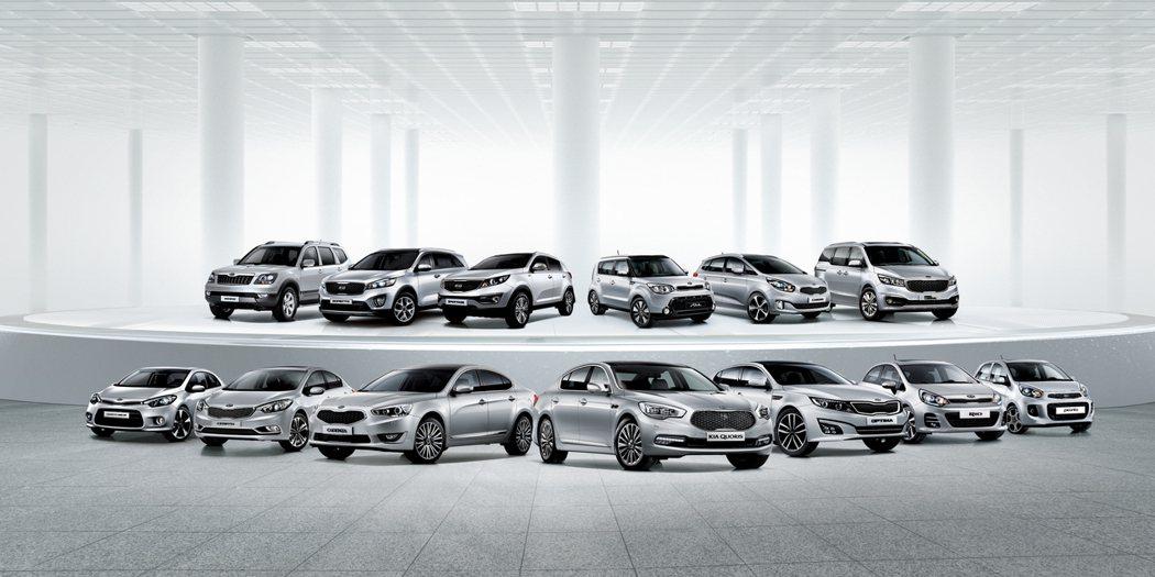 KIA車系愈來愈完整,2002年全球銷量僅95萬輛,而2014年則達到300萬輛規模。 KIA提供