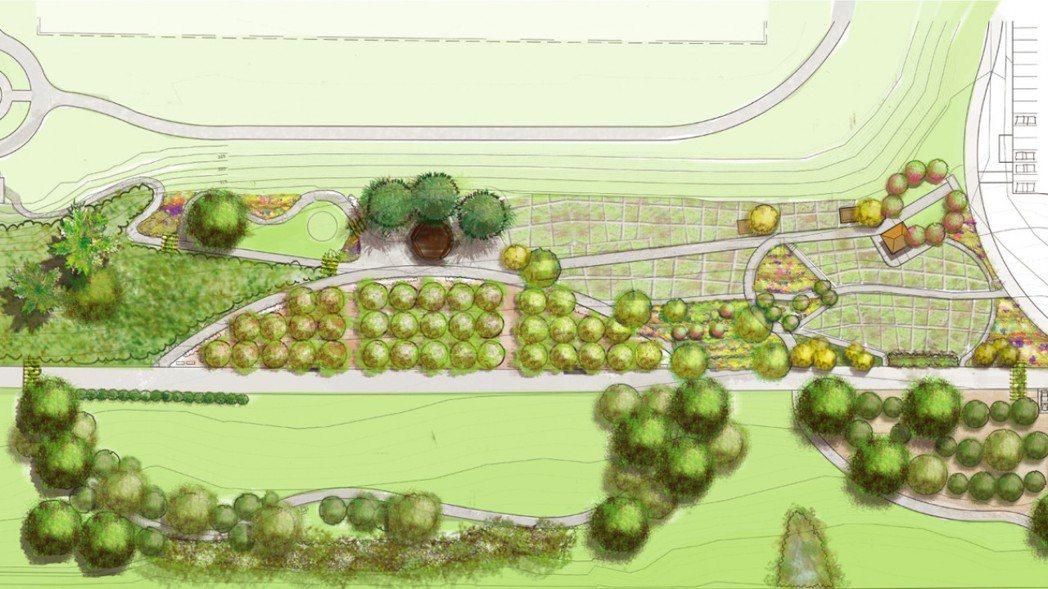 葛枚、赫里希與在地居民在西雅圖市立杰弗森公園旁的狹長毗鄰地上,建置必肯食物森林。...