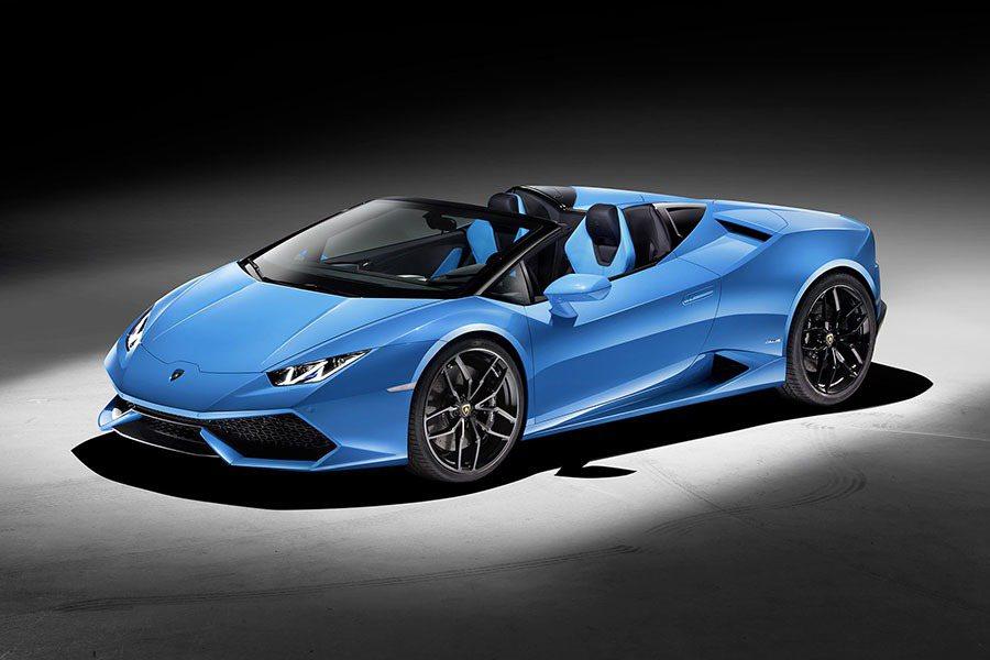 Lamborghini Huracán LP 610-4 Spyder正式亮相。 Lamborghini提供