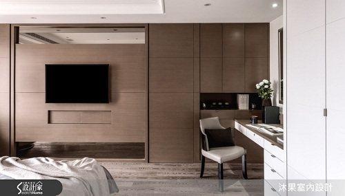 依場域的設計,打造沉穩優致的私領域空間,表現對品味生活極致的態度。 圖片提供_沐...