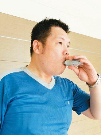 醫師籲COPD患者持續用藥、施打流感等疫苗,避免發作。 記者陳麗婷/攝影