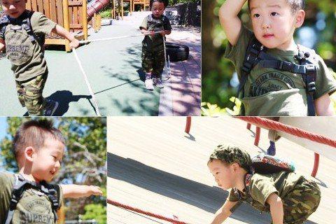 今(20)日播出的韓國綜藝節目《超人回來了》中,雙胞胎書言與書俊來到遊樂場訓練場,有模有樣訓練的兩人有點「男子漢」的架勢。書言和書俊穿著綠色T恤,帶著貝雷帽,小兵來報到就要接受訓練。在遊樂場中有用輪...
