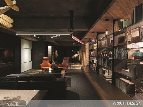 雖然是辦公室,但是宛如Lounge Bar的情境設計,充滿紓壓氛圍。 圖片提供_...