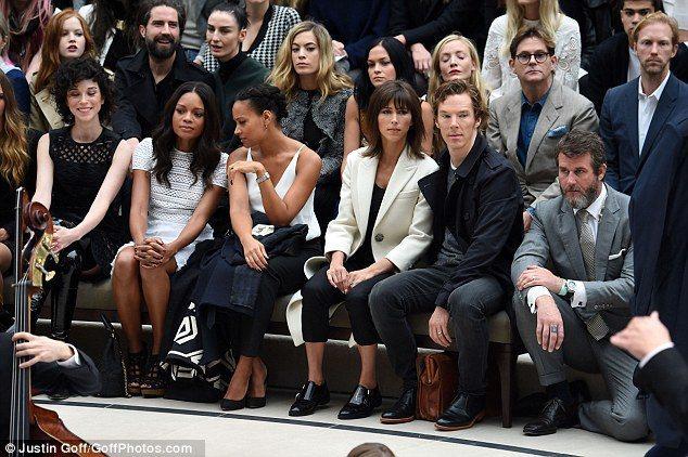 班奈迪克康柏拜區(Benedict Cumberbatch)蒞臨現場。圖/擷自每...