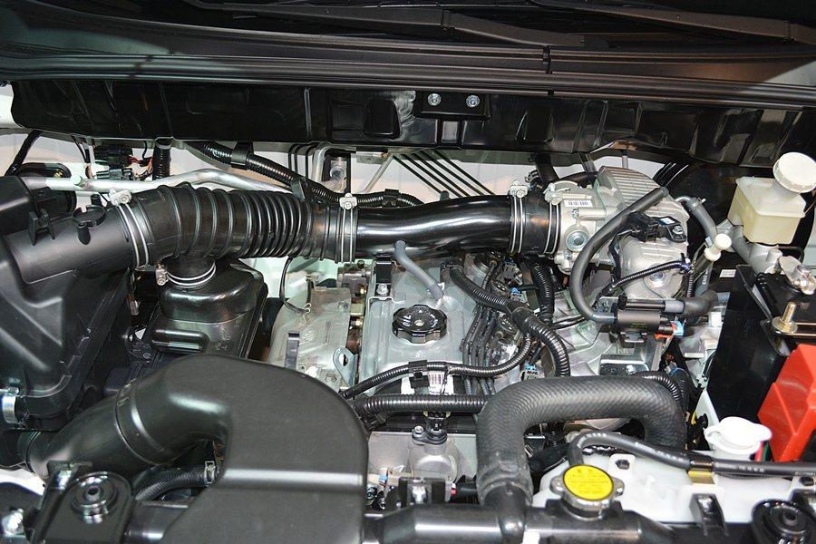 動力仍為2.4升MPI多點噴射汽引擎,最大馬力136匹,具有低轉速大扭力輸出的特性,最大扭力21.3公斤米,在引擎2300轉就釋出。 記者趙惠群/攝影