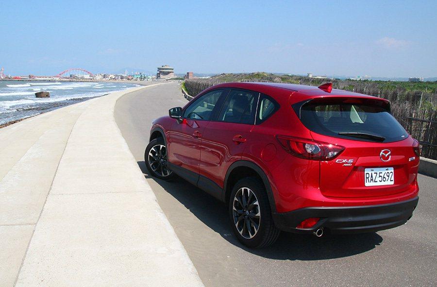 Mazda用「人馬一體」來形容旗下產品的操控性能。 記者敖啟恩/攝影