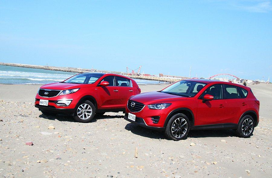 一部來自韓國、一部來自日本,究竟兩車各自有著何等魅力? 記者敖啟恩/攝影