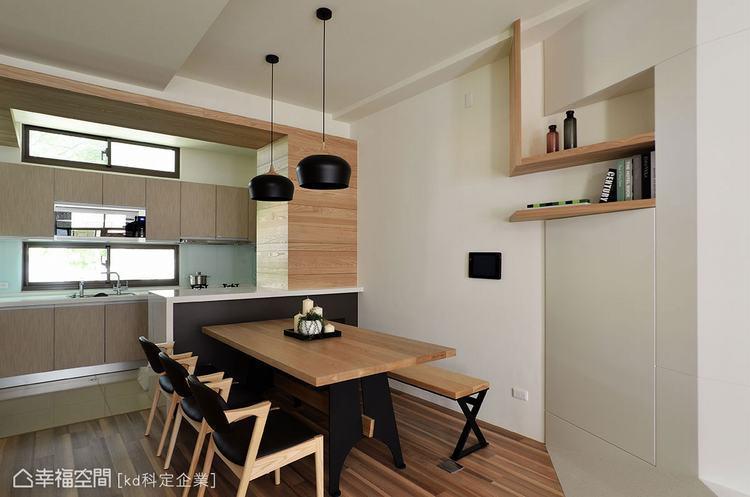 ▲因每間房子的條件不一,如何通過設計爭取最大的效益顯得分外重要。比如畸零空間可利...