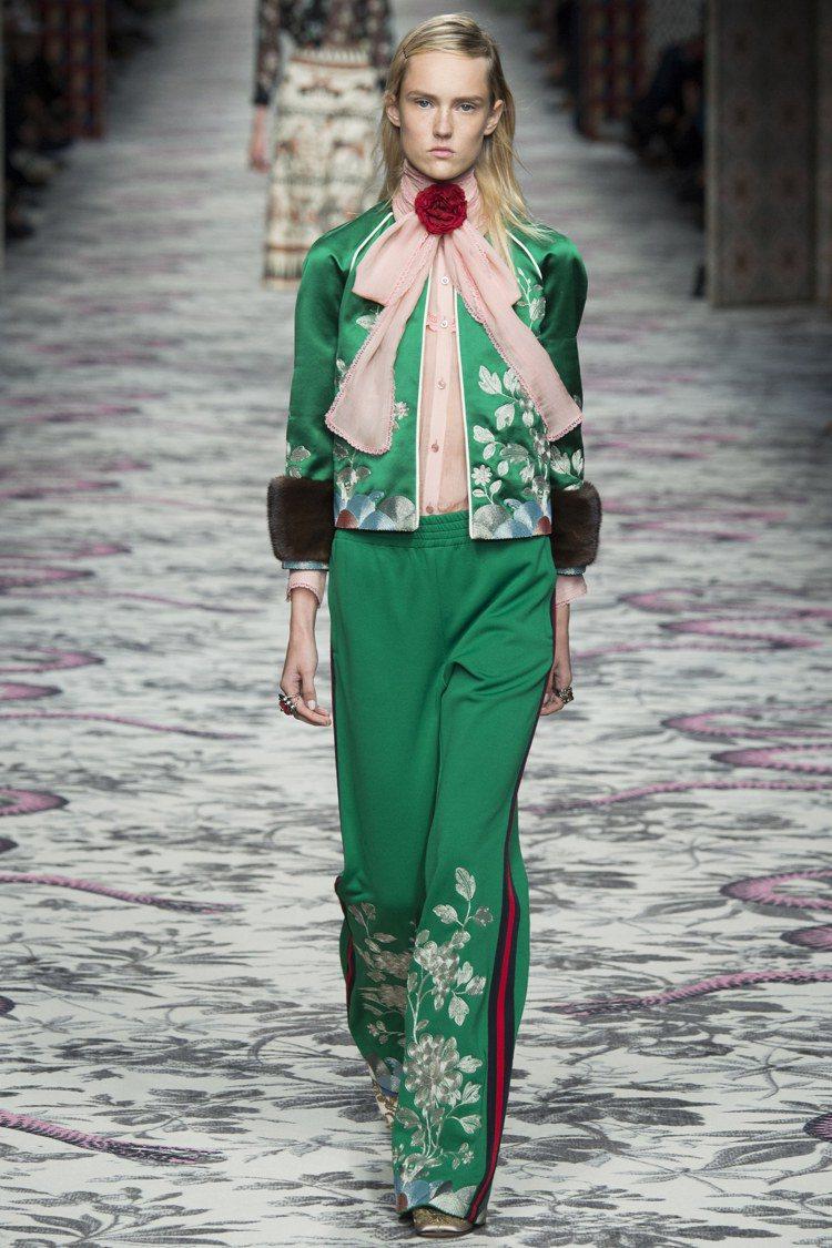 更多的中國風是創意總監 Alessandro Michele 新思維的展現。圖/...