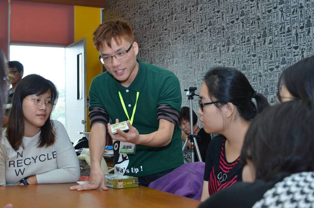 蛙成員吳健毅。圖片提供/阿普蛙工作室