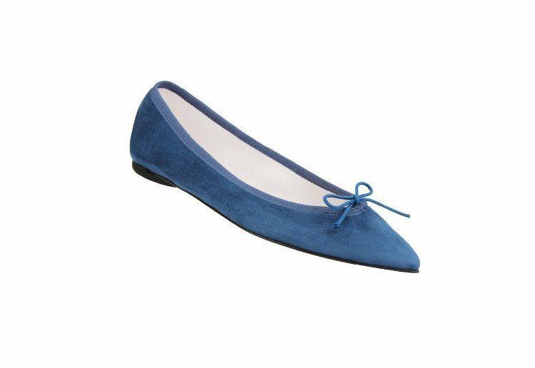 Brigette 尖頭平底鞋。圖/Repetto提供