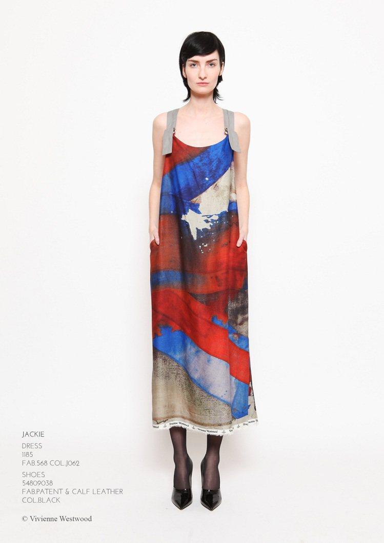 Vivienne Westwood的飄逸裙裝,前衛卻因舒放的剪裁讓人感到舒適。圖...