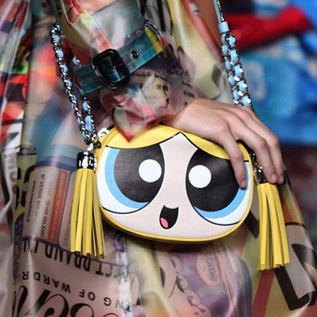 飛天小女警亂入Moschino 2016 春夏服裝秀。圖/擷自instagram