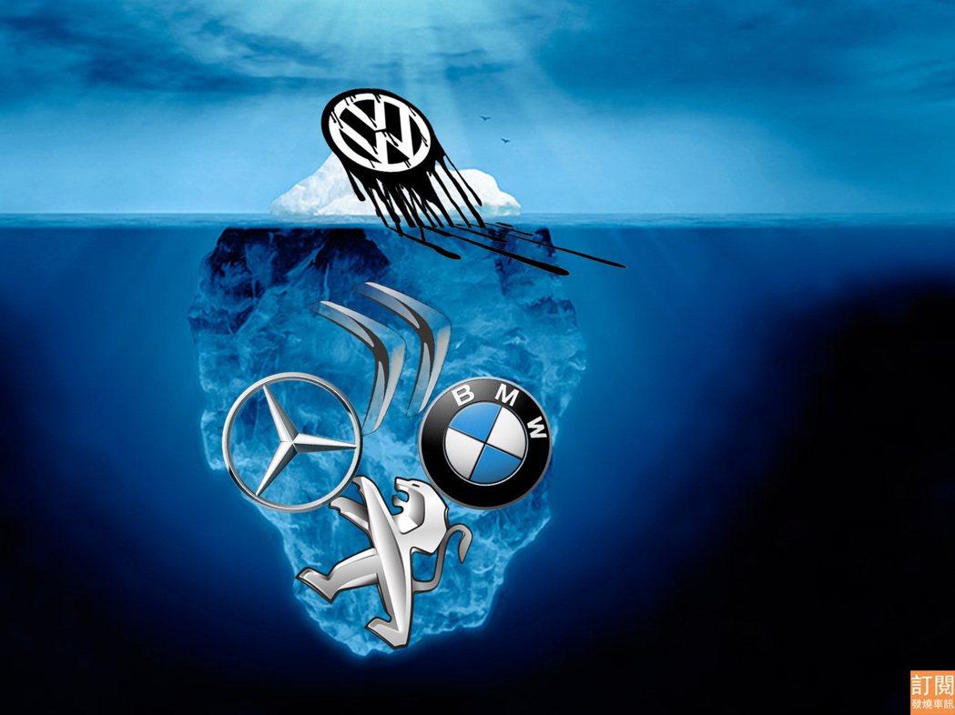 柴油車廢氣測試作弊事件除了讓德國VW福斯汽車名譽嚴重受損之外,還可能要支付一比高達180億美元的罰款。 發燒車訊/美編