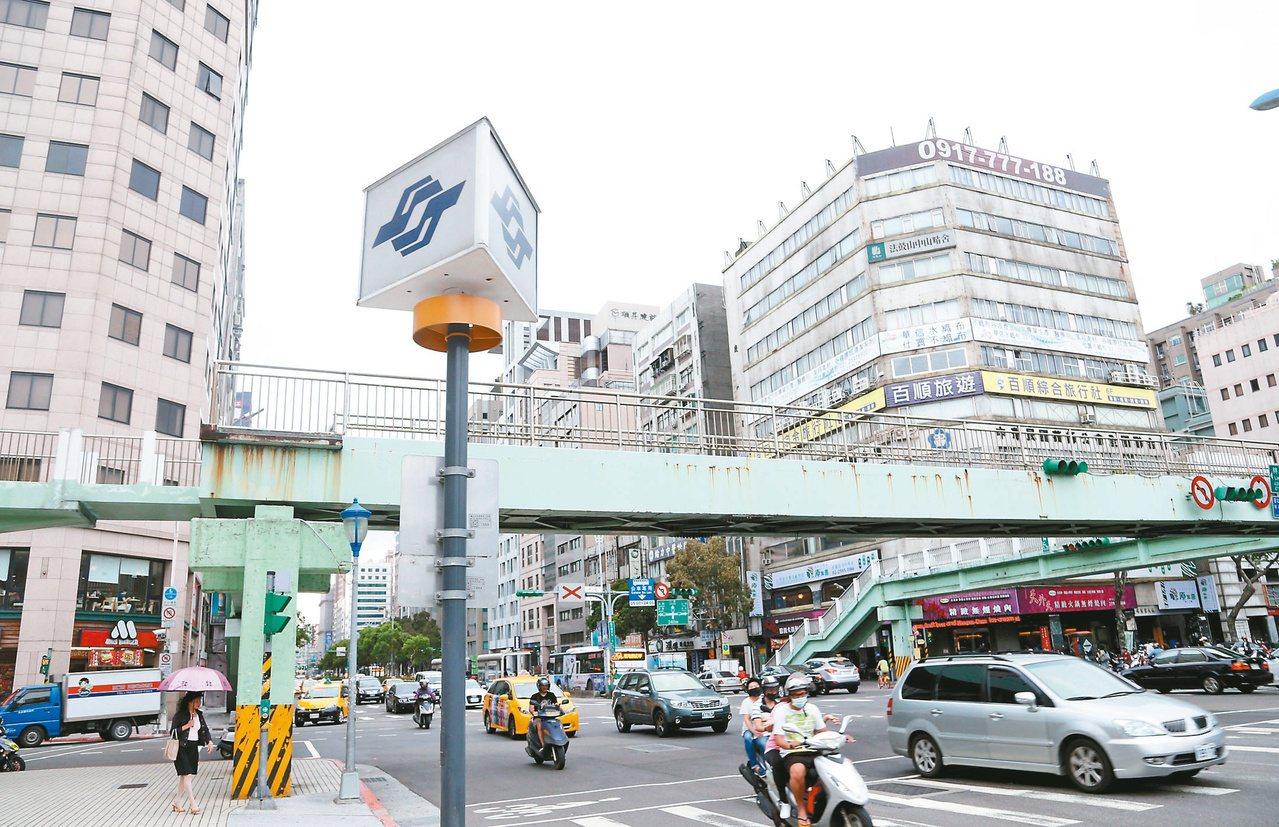 台北市地政局統計近二年熱門中古屋交易路段,和前一年相比,房價波動多在5%以內,顯...
