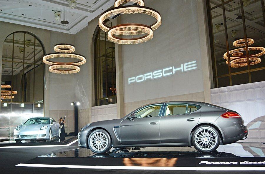 Panamera Edition豪勁階版共兩車型,是以既有的Panamera、Panamera Diesel 為基礎而加值的特仕車,有汽油版Panamera Edition,以及柴油版Panamera Diesel Edition,售價分別為485萬、495萬元起。 記者趙惠群/攝影