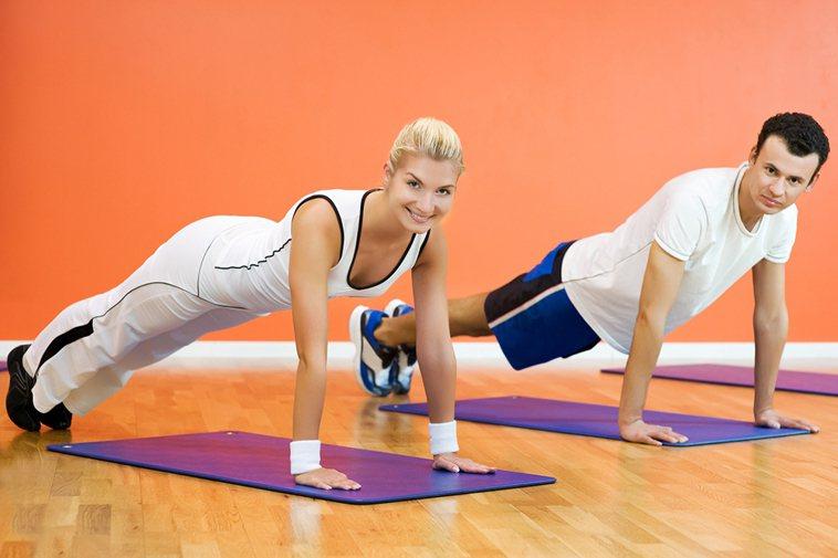 健身操示意圖。 圖/ingimage