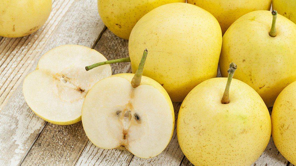 梨子的水分多、甜度高,且富含維生素C,很適合在秋天補充營養。 圖/ingimag...