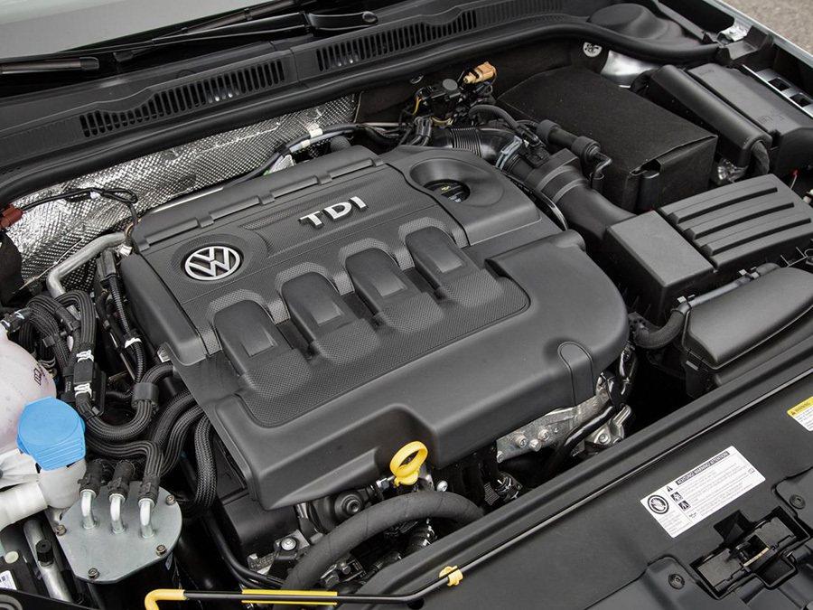 2015年式美規 Jetta TDI的柴油引擎。 VW提供