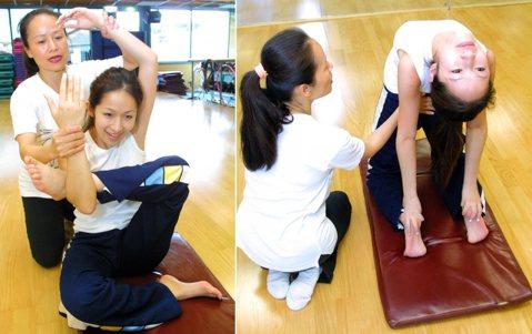 蕭亞軒做瑜珈,這身體還真是軟Q,不愧是唱跳歌手。