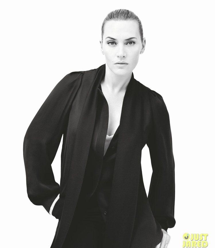 為了孩子,凱特溫絲蕾轉性想要好身材,保持健康。圖/擷自justjared.com