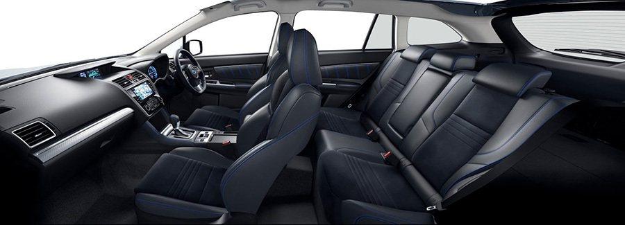 All-New Levorg集合旗下車款優質DNA元素如WRX車系的慓悍性能以及...