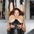 巴黎時裝周/Rick Owens 倒栽蔥搞怪
