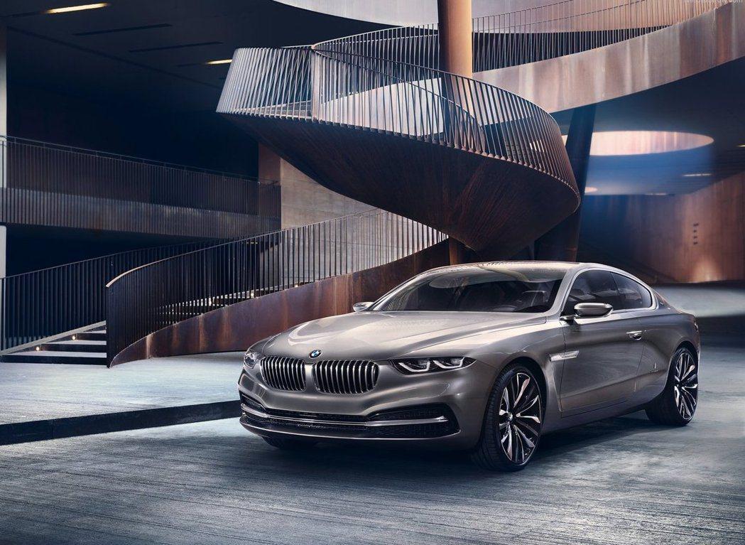 兩年前BMW也曾經發表一款名為Pininfarina Gran Lusso Co...