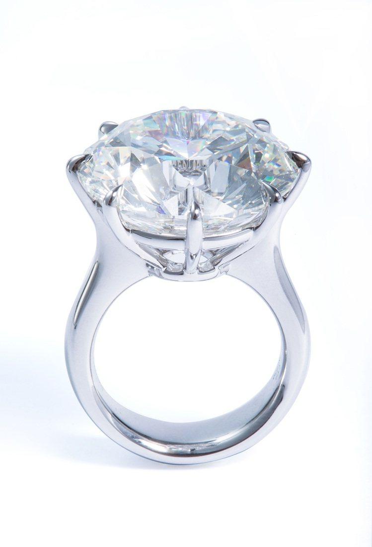 FOREVERMARK奢華美鑽25克拉戒指,主鑽25克拉,定價97,015,00...