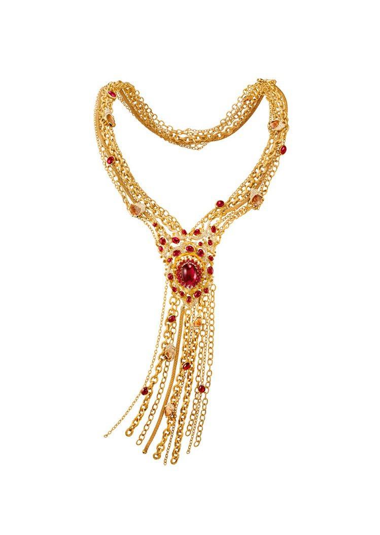 韶華之頌--18K黃金項鍊