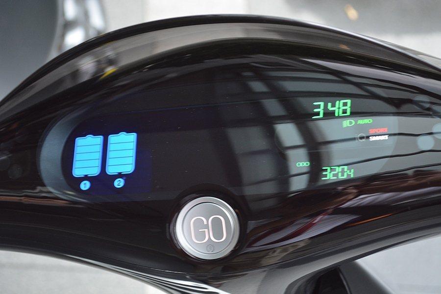 Gogoro Lite省去了一些配備和功能,例如原本可利用智慧手機調控儀表變色的...