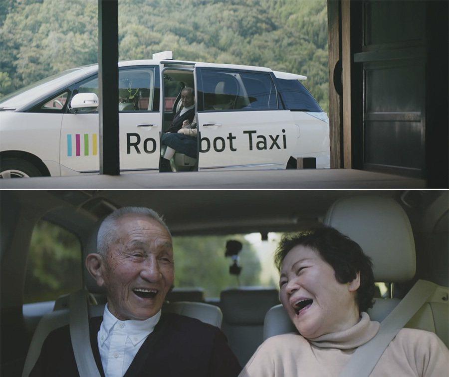 居住於缺乏公共交通工具的年長者是Robot Taxi自動駕駛計程車的目標客群之一...