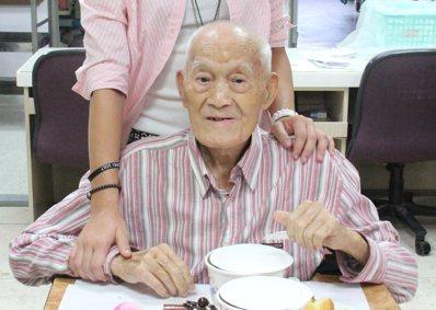 楊之幹高齡114歲。 記者郭逸君/攝影