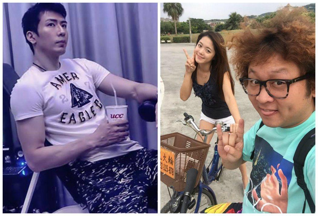 左圖擷自高廷宇臉書、右圖擷自納豆臉書