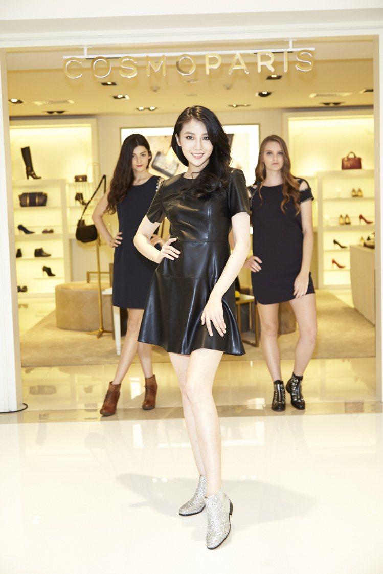 來自法國的Cosmoparis男女鞋登台,搶中價位市場。圖/玖熙提供